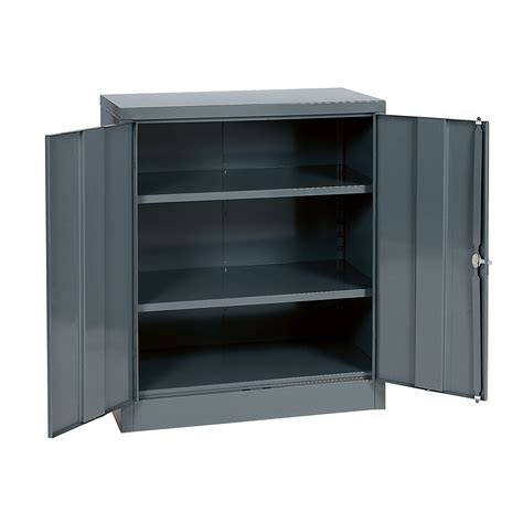 edsal metal storage cabinets edsal 42 quot h x 36 quot w x 18 quot d steel cabinet tools garage