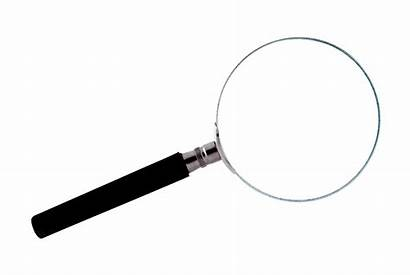 Magnifying Glass Transparent Vergrootglas Witte Achtergrond Loupe