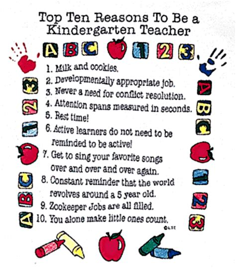 lipus kindergarten 854 | Top 10 Reasons to Be a Kindergarten Teacher