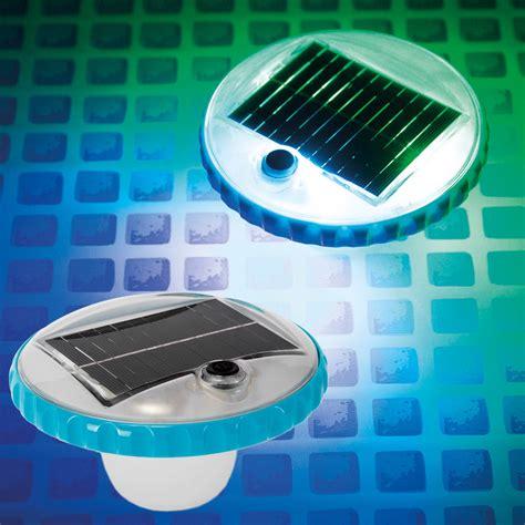 Solar Led Beleuchtung by Intex Solar Led Poollicht Beleuchtung Poolbeleuchtung
