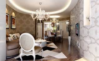 gestaltung essbereich luxury circular living room and dining room 3d house