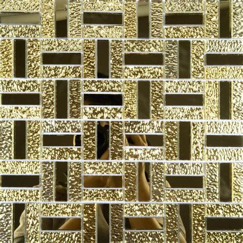 Crystal Glass Mirror Wall Tile Cheap Glass Mosaic Tiles Mgt138