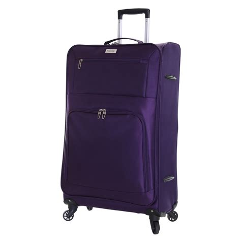 light cabin luggage lightweight 4 wheeled large cabin trolley luggage