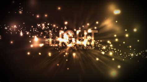 the light of the world tony anthony