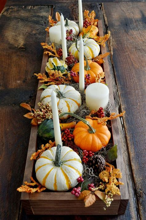 how to decorate a table for fall 30 festive fall table decor ideas