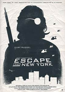 John Carpenter's Escape From New York Stretched Canvas by ...