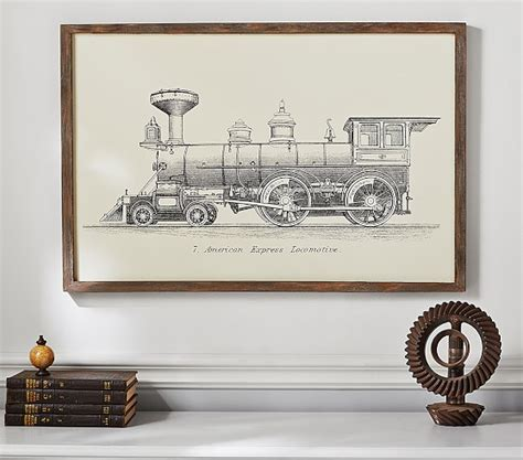 pottery barn baby wall decor locomotive wall pottery barn