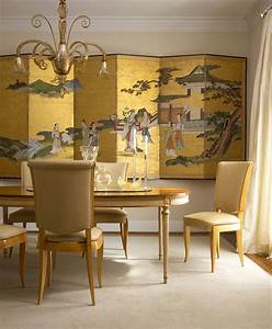 Serene and practical asian style dining rooms
