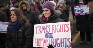 'Very large partisan gaps' in views on transgender issues ...