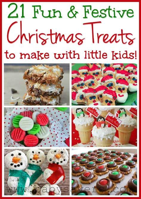 Easy Christmas Recipes For Kids 21 Kidfriendly Treats