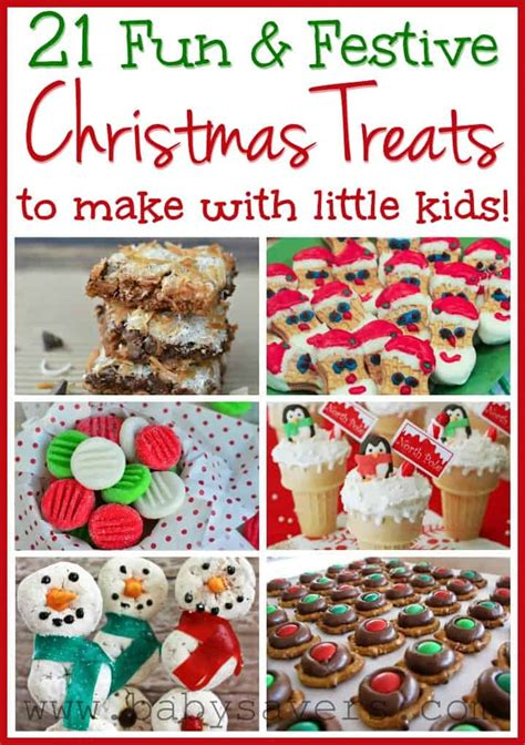 Put on a christmas movie and make these grinch cookies with your kids so they can share them at school! Easy Christmas Recipes for Kids: 21 Kid-Friendly Treats
