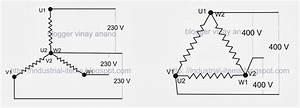 Star Delta Motor Diagram