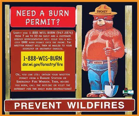 waupaca county burning laws city  waupaca police