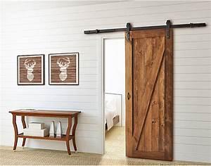 Porte Coulissante En Bois : porte coulissante rustique le bois chez vous ~ Melissatoandfro.com Idées de Décoration