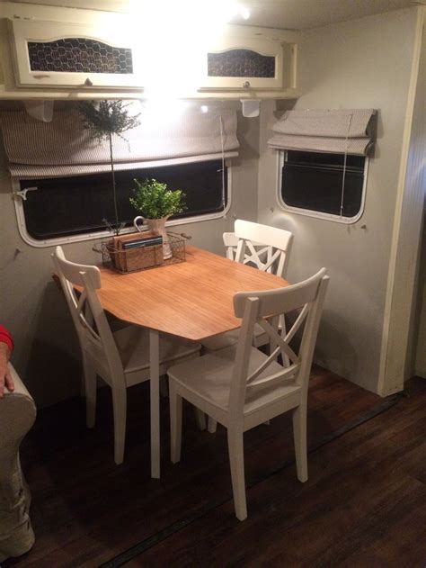 dining table ikea  toddler chair camper renovation