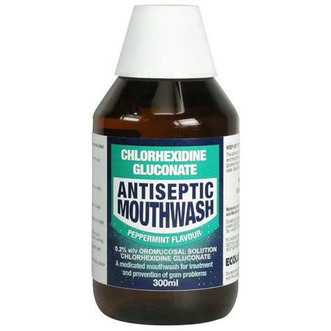 Chlorhexidine Gluconate Chlorhexidine Gluconate Antiseptic Mouthwash Peppermint