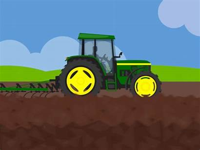 Tractor Animation Clipart Animated Tractors Dribbble Remillard