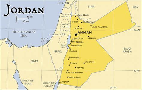 capital  jordan map
