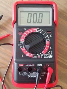 Comment Utiliser Un Multimetre : comment mesurer une tension cours ~ Gottalentnigeria.com Avis de Voitures