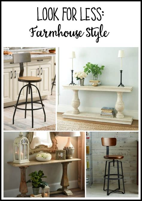 Get Look Farmhouse Style by Look For Less Farmhouse Style The Diy Bungalow