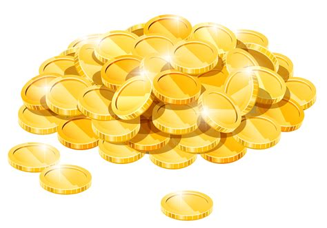 Gold Clipart Coin Clipart Transparent Pencil And In Color Coin