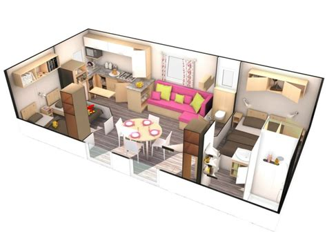 cing avec mobil home 4 chambres location mobil home 2 chambres 4 pers normandie calvados