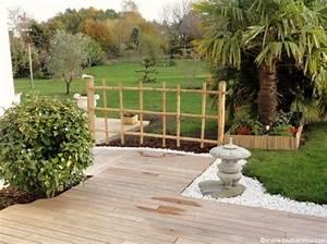 Gros Bambou Deco : idee d co jardin bambou ~ Teatrodelosmanantiales.com Idées de Décoration