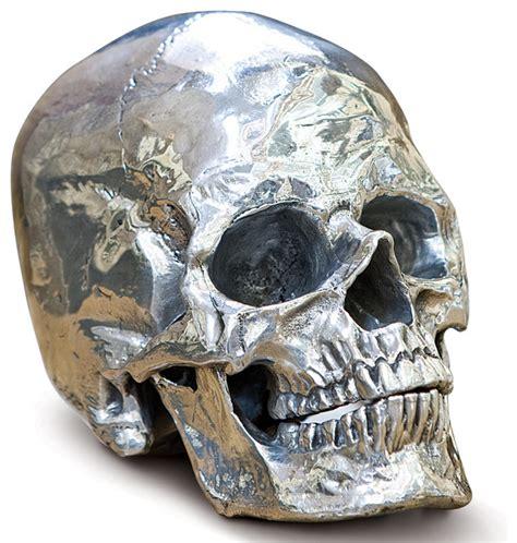 gold bathroom rugs hamlet industrial loft polished nickel metal skull