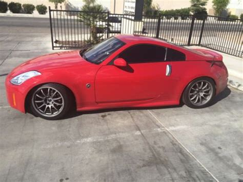 Sell Used 2005 Nissan 350z Enthusiast Coupe 2-door 3.5l In