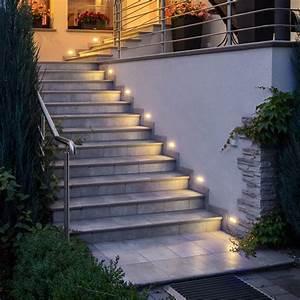 Wandeinbauleuchten Für Treppen : led einbauleuchte piko s treppenleuchte 230v edelstahl ~ Watch28wear.com Haus und Dekorationen