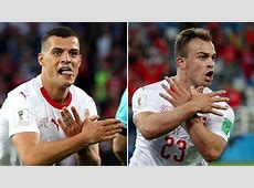 Swiss players investigated over 'doubleheaded eagle' goal
