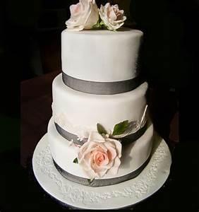 Triple Layer Wedding Cake Design 4 Wedding Cake - Cake