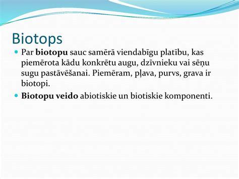 Sauszemes un ūdens ekosistēma - online presentation