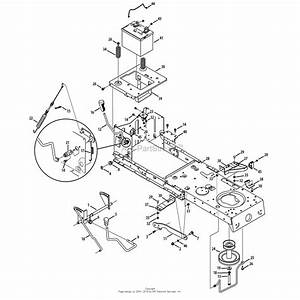 Mtd 13bl78st299  247 288862   Lt2000   2013  Parts Diagram