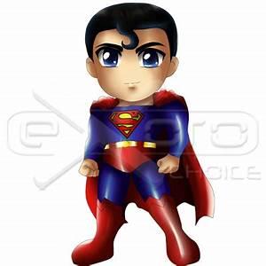 Exoro Shop Superman Standing Chibi - Exoro Shop