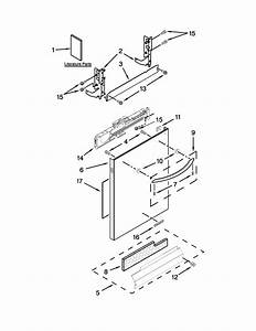 Kitchenaid Model Kdte334dss0 Dishwasher Genuine Parts