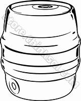 Keg Beer Clipart Objects Things Clipground sketch template