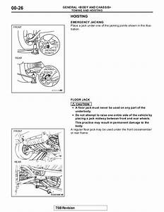 Repair Manual 2003 Mitsubishi Montero Sport