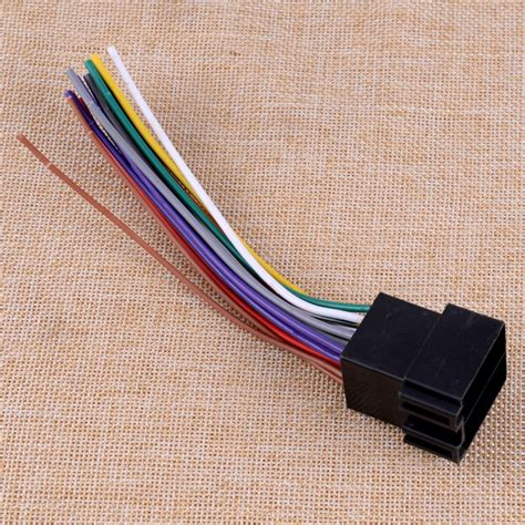 Car Radio Stereo Wire Wiring Cable Harness Adapter