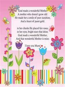 mothers day poem happy birthday grandma birthday poems