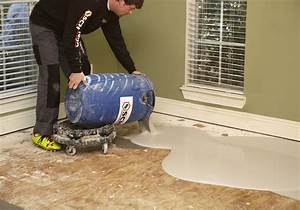 Floor leveling compound over plywood carpet review for Floor leveling compound for wood subfloors