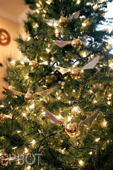 epbot    golden snitch ornaments