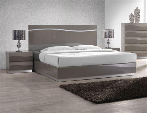 2412 high platform bed lacquered sophisticated quality elite platform bed