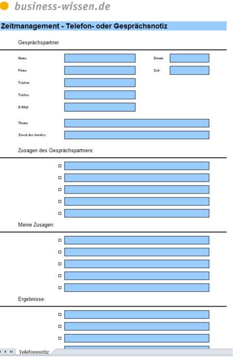 formular gespraechsnotiz excel tabelle business wissende