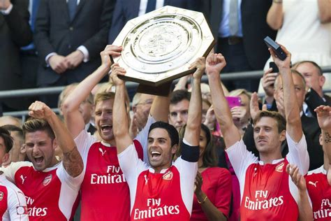 Arsenal venció al Chelsea en la Community Shield
