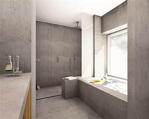 Fugenlose Bodenbeläge Bad : fugenlose duschen pflegeleicht und puristisch baqua ~ Markanthonyermac.com Haus und Dekorationen
