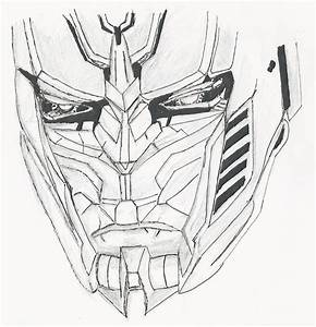 Optimus Prime Face Drawing. by OmegaRaijin on DeviantArt