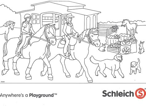 Ideale dieren om niet alleen naar te vind je onze kleurplaten van paarden mooi? Paarden Manege Playmobil Kleurpl Paarden Kleurplaten - Disun
