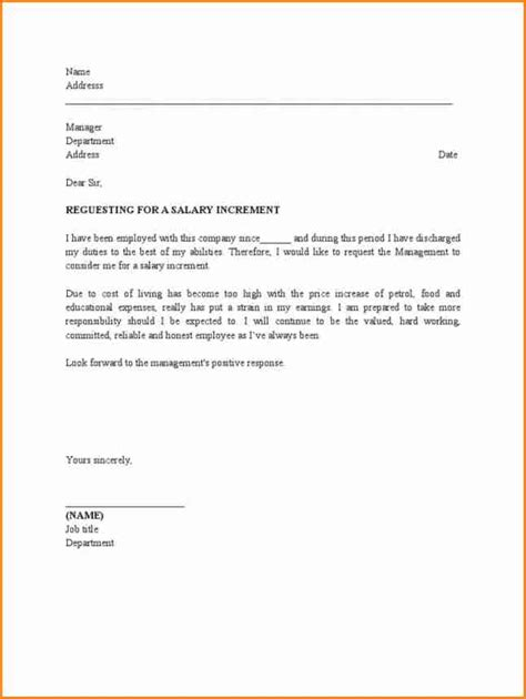 salary revision request letter simple salary slip