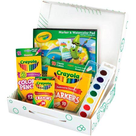 crayola creative color paint kit  markers paint